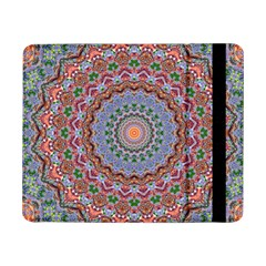 Abstract Painting Mandala Salmon Blue Green Samsung Galaxy Tab Pro 8 4  Flip Case