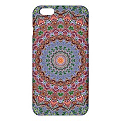 Abstract Painting Mandala Salmon Blue Green Iphone 6 Plus/6s Plus Tpu Case by EDDArt