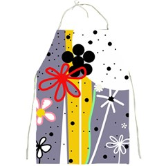Flowers Full Print Aprons by Valentinaart