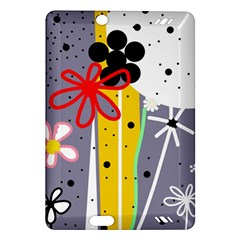 Flowers Amazon Kindle Fire Hd (2013) Hardshell Case by Valentinaart