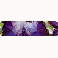 Purple Abstract Geometric Dream Large Bar Mats by DanaeStudio