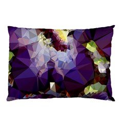 Purple Abstract Geometric Dream Pillow Case