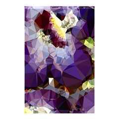 Purple Abstract Geometric Dream Shower Curtain 48  X 72  (small)  by DanaeStudio
