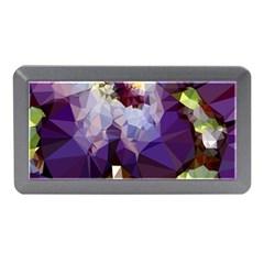Purple Abstract Geometric Dream Memory Card Reader (mini) by DanaeStudio