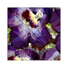 Purple Abstract Geometric Dream Acrylic Tangram Puzzle (6  X 6 ) by DanaeStudio