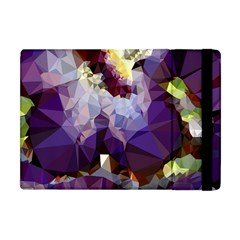 Purple Abstract Geometric Dream Apple Ipad Mini Flip Case by DanaeStudio