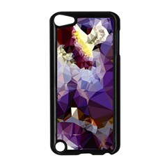 Purple Abstract Geometric Dream Apple Ipod Touch 5 Case (black) by DanaeStudio
