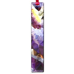Purple Abstract Geometric Dream Large Book Marks by DanaeStudio