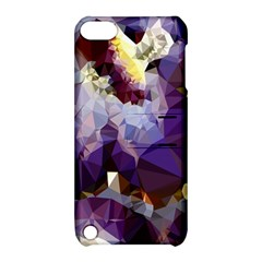 Purple Abstract Geometric Dream Apple Ipod Touch 5 Hardshell Case With Stand by DanaeStudio