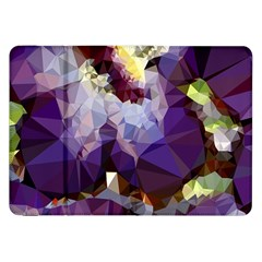Purple Abstract Geometric Dream Samsung Galaxy Tab 8 9  P7300 Flip Case by DanaeStudio