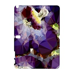 Purple Abstract Geometric Dream Samsung Galaxy Note 10 1 (p600) Hardshell Case by DanaeStudio