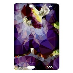 Purple Abstract Geometric Dream Amazon Kindle Fire Hd (2013) Hardshell Case by DanaeStudio