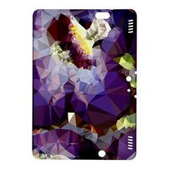 Purple Abstract Geometric Dream Kindle Fire Hdx 8 9  Hardshell Case by DanaeStudio