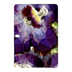 Purple Abstract Geometric Dream Samsung Galaxy Tab Pro 10 1 Hardshell Case by DanaeStudio