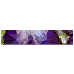 Purple Abstract Geometric Dream Flano Scarf (small) by DanaeStudio