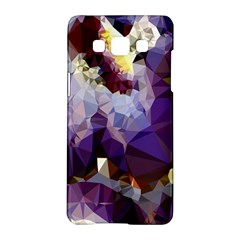 Purple Abstract Geometric Dream Samsung Galaxy A5 Hardshell Case  by DanaeStudio