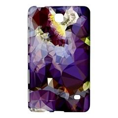 Purple Abstract Geometric Dream Samsung Galaxy Tab 4 (7 ) Hardshell Case  by DanaeStudio