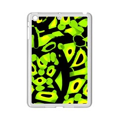 Green Neon Abstraction Ipad Mini 2 Enamel Coated Cases by Valentinaart