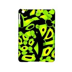 Green Neon Abstraction Ipad Mini 2 Hardshell Cases by Valentinaart