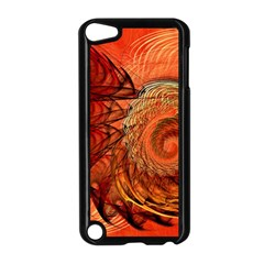 Nautilus Shell Abstract Fractal Apple Ipod Touch 5 Case (black) by designworld65