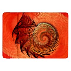 Nautilus Shell Abstract Fractal Samsung Galaxy Tab 8 9  P7300 Flip Case by designworld65