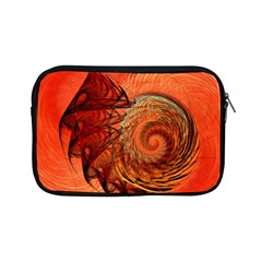 Nautilus Shell Abstract Fractal Apple Ipad Mini Zipper Cases by designworld65