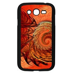 Nautilus Shell Abstract Fractal Samsung Galaxy Grand Duos I9082 Case (black) by designworld65