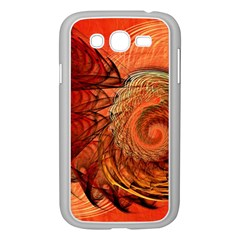 Nautilus Shell Abstract Fractal Samsung Galaxy Grand Duos I9082 Case (white) by designworld65