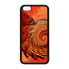 Nautilus Shell Abstract Fractal Apple Iphone 5c Seamless Case (black) by designworld65