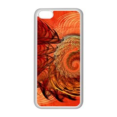 Nautilus Shell Abstract Fractal Apple Iphone 5c Seamless Case (white) by designworld65