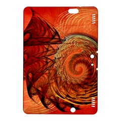 Nautilus Shell Abstract Fractal Kindle Fire Hdx 8 9  Hardshell Case by designworld65