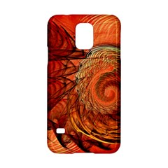 Nautilus Shell Abstract Fractal Samsung Galaxy S5 Hardshell Case  by designworld65