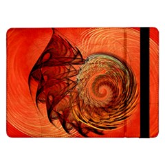 Nautilus Shell Abstract Fractal Samsung Galaxy Tab Pro 12 2  Flip Case by designworld65