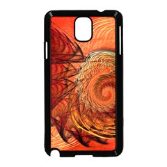 Nautilus Shell Abstract Fractal Samsung Galaxy Note 3 Neo Hardshell Case (black) by designworld65
