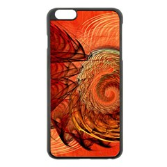 Nautilus Shell Abstract Fractal Apple Iphone 6 Plus/6s Plus Black Enamel Case by designworld65