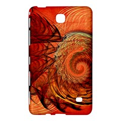 Nautilus Shell Abstract Fractal Samsung Galaxy Tab 4 (7 ) Hardshell Case  by designworld65