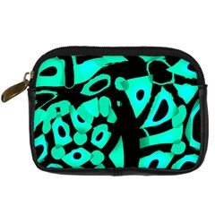 Cyan Design Digital Camera Cases by Valentinaart