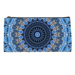 Feel Blue Mandala Pencil Cases by designworld65