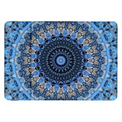 Feel Blue Mandala Samsung Galaxy Tab 8 9  P7300 Flip Case by designworld65