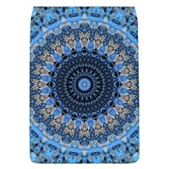 Feel Blue Mandala Flap Covers (l)  by designworld65