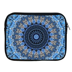 Feel Blue Mandala Apple Ipad 2/3/4 Zipper Cases by designworld65