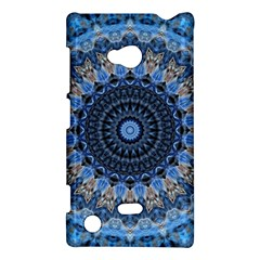 Feel Blue Mandala Nokia Lumia 720 by designworld65