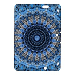 Feel Blue Mandala Kindle Fire Hdx 8 9  Hardshell Case by designworld65