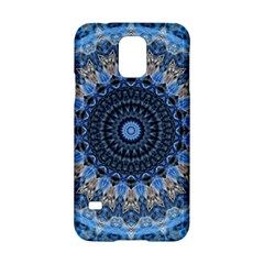 Feel Blue Mandala Samsung Galaxy S5 Hardshell Case  by designworld65