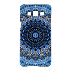 Feel Blue Mandala Samsung Galaxy A5 Hardshell Case  by designworld65