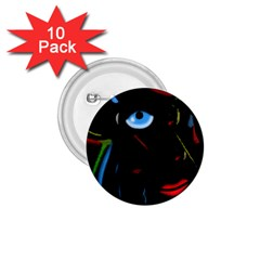 Black magic woman 1.75  Buttons (10 pack) by Valentinaart