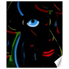 Black Magic Woman Canvas 8  X 10  by Valentinaart