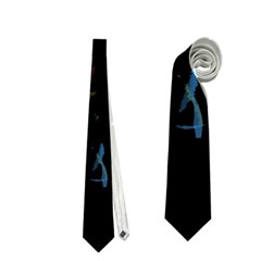 Black Magic Woman Neckties (two Side)