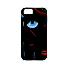Black Magic Woman Apple Iphone 5 Classic Hardshell Case (pc+silicone) by Valentinaart