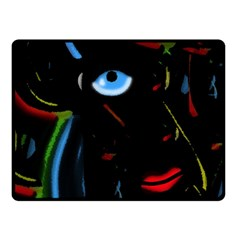 Black Magic Woman Double Sided Fleece Blanket (small)  by Valentinaart